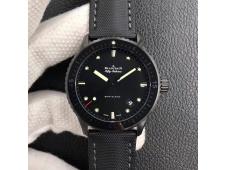 Replica Blancpain Fifty Fathoms Bathyscaphe Black Ceramic ZF 1:1 Best Edition Black Dial A1315
