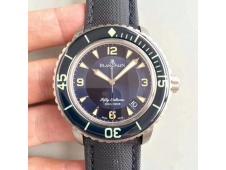 Replica Blancpain Fifty Fathoms Blue Titanium ZF 1:1 Best Edition Blue Dial A1315