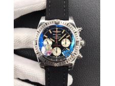 Replica Breitling Chronomat 44 Airborne 30th Anniversary GF 1:1 Best Edition Black Dial A7750
