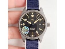 Replica IWC Mark XVIII IW327006 Titanium Grand M+F 1:1 Best Edition Black Dial A35111 (Free Leather Strap)