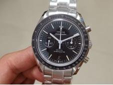 Replica OMEGA Speedmaster Moonwatch OMF 1:1 Best Edition White Dial Black Hand on SS Bracelet A9900