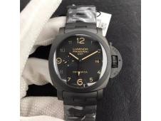Replica Panerai PAM438 O Real Ceramic VSF 1:1 Best Edition on Ceramic Bracelet P9001/B V2 (Free Asso Strap)