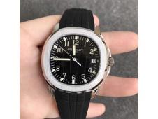 Replica Patek Philippe Aquanaut 5167 SS KMF 1:1 Best Edition Black Dial on Black Rubber Strap A324 Clone