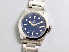 Replica Tudor Black Bay 41mm LF 1:1 Best Edition Blue Dial on SS Bracelet A2824