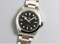 Replica Tudor Black Bay 41mm LF 1:1 Best Edition Black Dial on SS Bracelet A2824