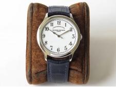 Replica Vacheron Constantin VC Historiques Chronometre Royal 1907 SS GSF Best Edition White Dial MIYOTA 9015