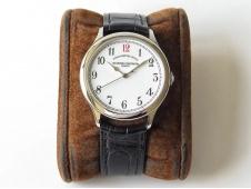 Replica Vacheron Constantin VC Historiques Chronomètre Royal 1907 SS GSF Best Edition White Dial Red 12 MIYOTA 9015
