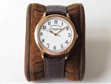 Replica Vacheron Constantin VC Historiques Chronomètre Royal 1907 Rose Gold GSF Best Edition White Dial MIYOTA 9015