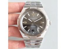 Replica Vacheron Constantin VC Overseas SS JJF 1:1 Best Edition Gray Dial SS Bracelet MIYOTA9015