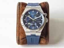 Replica Vacheron Constantin VC Overseas Dual Time Power Reserve TWA Best Edition Blue Dial Rubber Strap A1222