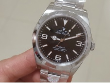 Replica Rolex EXPLORER I 214270 39mm ARF 1:1 Best Edition 904L SS Case and Bracelet SH3132