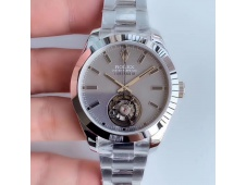 Replica Rolex Milgauss SS Label Noir Tourbillon V9F Best Edition on SS Bracelet