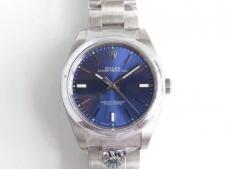Replica Rolex Oyster Perpetual 39mm 114300 ARF 1:1 Best Edition 904L SS Blue Dial SH3132