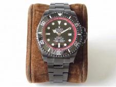 Replica Rolex Sea-Dweller 116660 Bamford PVD VRF 1:1 Best Edition Black Dial Red Rehaut A2836