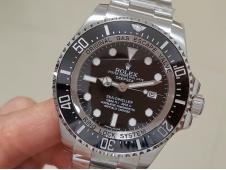Replica Rolex Sea-Dweller Deepsea 116660 ARF 1:1 Best Edition 904L Black Dial SH3135 V2