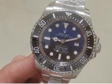 Replica Rolex Sea-Dweller Deepsea 116660 James Cameron ARF 1:1 Best Edition 904L Blue Dial SH3135 V2