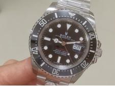 Replica Rolex Sea-Dweller 2017 Baselworld 126600 ARF 1:1 Best Edition 904L SS Case and Bracelet A2824 V3