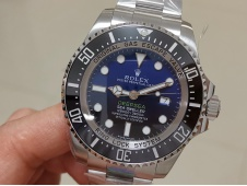 Replica Rolex Sea-Dweller 116660 Deepsea Blue James Cameron ARF 1:1 Best Edition 904L A2824 V3