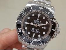 Replica Rolex Sea-Dweller Deepsea 116660 Black Ceramic ARF 1:1 Best Edition 904L A2824 V3