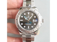 Replica Rolex Yacht-Master 116622 ARF 1:1 Best Edition 904L Steel Gray Dial on SS Bracelet A2824
