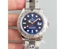 Replica Rolex Yacht-Master 116622 ARF 1:1 Best Edition 904L Steel Blue Dial on SS Bracelet A2824