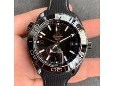 Replica OMEGA Planet Ocean 45.5mm Deep Black Real Ceramic VSF 1:1 Best Edition A8906 Super Clone