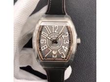 Replica Frank Muller Vanguard V45 Titanium ZF 1:1 Best Gray Dial MIYOTA 9015