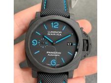Replica Panerai PAM1661 Carbotech VSF 1:1 Best Black Kevlar Composite Strap P9010 Clone