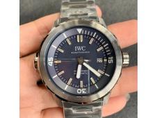 Replica IWC Aquatimer Automatic IW329004 V6F 1:1 Best Blue dial on SS Bracelet MIYOTA 9015