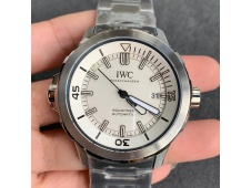 Replica IWC Aquatimer Automatic IW329004 V6F 1:1 Best White dial on SS Bracelet MIYOTA 9015