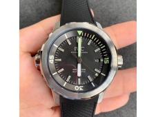 Replica IWC Aquatimer Automatic IW329002 V6F 1:1 Best Black dial on Rubber Strap MIYOTA 9015