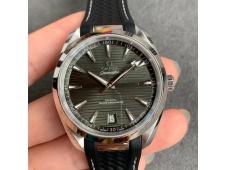 Replica OMEGA Aqua Terra 150M Master Chronometers VSF 1:1 Best Green Dial Black Rubber Strap A8900 Super Clone