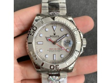 Replica Rolex Yacht-Master 116622 ARF 1:1 Best 904L Steel Silver Dial on SS Bracelet SH3135