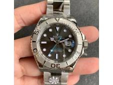 Replica Rolex Yacht-Master 116622 ARF 1:1 Best 904L Steel Gray Dial on SS Bracelet SH3135