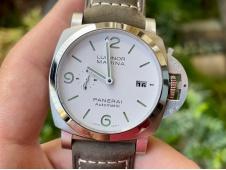 Replica Panerai PAM 1314 VSF 1:1 Best White Dial on Gray Asso Strap P9010 Clone