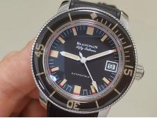 Replica Blancpain Fifty Fathoms 5008B Barakuda 1:1 ZF Best Black Dial A1151