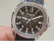Replica Patek Philippe Aquanaut 5167 3KF 1:1 Best Edition Gray Dial on Rubber A324 Super Clone V2