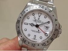 Replica ROLEX Explorer II 40mm 16570 BP Factory White Dial Asian 2813