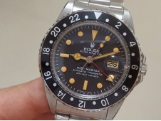 Replica ROLEX GMT Master II VINTAGE 1675 Black Dial BP Factory A2813 CHS
