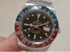 Replica Rolex GMT 6542 Vintage Red/Blue Pepsi Bezel Asian 2836