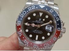 Replica ROLEX GMT 126710 BLRO Pepsi Red/Blue Ceramic 904L Steel VRF 1:1 Best SA3285 CHS V2 (CF Bezel)