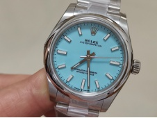 Replica Rolex Oyster Perpetual 31mm 277200 EWF 1:1 Best Tiffany Blue Dial 6T15