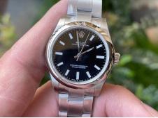 Replica Rolex Oyster Perpetual 31mm 277200 EWF 1:1 Best Black Dial 6T15