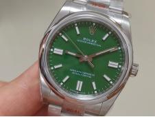 Replica Rolex Oyster Perpetual 36mm 126300 EWF 1:1 Best Green Dial A3230