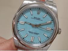 Replica Rolex Oyster Perpetual 36mm 126300 EWF 1:1 Best Tiffany Blue Dial A3230