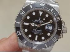 Replica Rolex Submariner 41mm 126610 LN Black Ceramic 904L Steel VSF 1:1 Best Edition VS3235