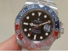Replica ROLEX GMT 126710 BLRO Pepsi Red Blue VRF Best SA3285 CHS V2 CF Bezel Oyster
