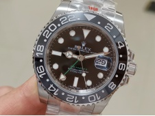 Replica Rolex GMT-Master II 116710 LN Black Ceramic 904L Steel ARF 1:1 Best SH3186 CHS