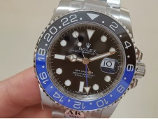 Replica Rolex GMT-Master II 116710 BLNR Black Blue Ceramic 904L Steel ARF 1:1 Best SH3186 CHS