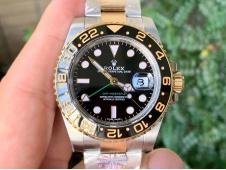Replica Rolex GMT-Master II 116713 Two Tone SS/Yellow Gold 904L ARF 1:1 Best SH3186 CHS